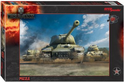 Степ Пазл Пазл Step Puzzle World of Tanks , 560 элементов