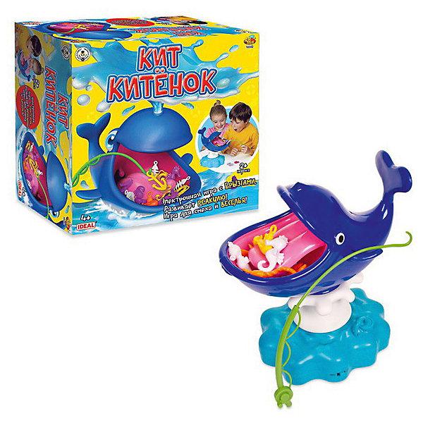 Игрушка для ванны Abtoys Кит КитенокИгрушки для ванной<br>Характеристики:<br><br>• возраст: от 4 лет<br>• в комплекте: кит, удочка, аксессуары<br>• батарейки: 3 типа АА<br>• наличие батареек: не входят в комплект<br>• упаковка: картонная коробка<br>• размер упаковки: 26,7х26,7х14 см.<br><br>Игровой набор «Кит Китенок» с аксессуарами - это забавная интерактивная игрушка в виде кита, во рту которого находятся различные предметы. Ребенку необходимо удочкой достать все предметы из его рта, не дотронувшись до языка. Если малыш случайно заденет язык, то кит забрызгает его водой.<br><br>С такой игрушкой можно играть как одному, так и в компании друзей. Можно устроить соревнования и победителем в игре останется тот, кто вытащит больше предметов и останется сухим.<br><br>Игровой набор «Кит Китенок» поможет в развитии мелкой моторики, координации движений, станет отличным развлечением не только для детей, но и для взрослых.<br><br>Набор Кит Китенок, с аксессуарами в комплекте, в коробке можно купить в нашем интернет-магазине.<br><br>Ширина мм: 267<br>Глубина мм: 267<br>Высота мм: 140<br>Вес г: 9999<br>Возраст от месяцев: 48<br>Возраст до месяцев: 120<br>Пол: Унисекс<br>Возраст: Детский<br>SKU: 7340365