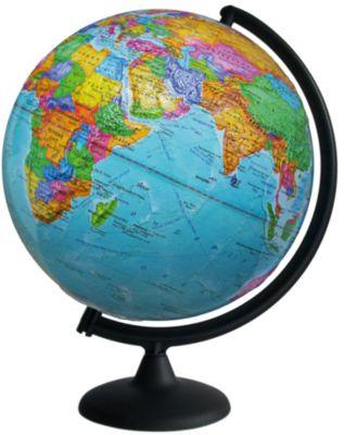 Глобусный Мир Глобус Земли политический рельефный