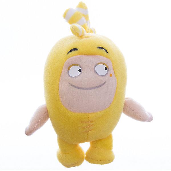 Мягкая игрушка Oddbods Баблз, 12 смМягкие игрушки из мультфильмов<br>Фигурка плюшевая Oddbods, 12см Плюшевая фигурка Oddbods представлена в виде одного из персонажей популярного мультфильма с аналогичным названием. Для поклонников мультфильма, русскоязычное название которого - Чуддики, это отличная возможность в живую поиграть со своим любимым персонажем. Собрав несколько фигурок из данной коллекции, ребята смогут разыгрывать увлекательные сюжеты и сцены из мультфильма.<br><br>Ширина мм: 120<br>Глубина мм: 85<br>Высота мм: 80<br>Вес г: 0<br>Возраст от месяцев: 36<br>Возраст до месяцев: 120<br>Пол: Унисекс<br>Возраст: Детский<br>SKU: 7343074