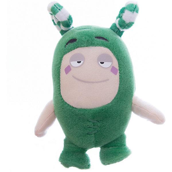 Мягкая игрушка Oddbods Зи, 12 смМягкие игрушки из мультфильмов<br>Фигурка плюшевая Oddbods, 12см Плюшевая фигурка Oddbods представлена в виде одного из персонажей популярного мультфильма с аналогичным названием. Для поклонников мультфильма, русскоязычное название которого - Чуддики, это отличная возможность в живую поиграть со своим любимым персонажем. Собрав несколько фигурок из данной коллекции, ребята смогут разыгрывать увлекательные сюжеты и сцены из мультфильма.<br>Ширина мм: 120; Глубина мм: 85; Высота мм: 80; Вес г: 0; Возраст от месяцев: 36; Возраст до месяцев: 120; Пол: Унисекс; Возраст: Детский; SKU: 7343075;