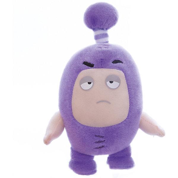 Мягкая игрушка Oddbods Джефф, 12 смМягкие игрушки из мультфильмов<br>Фигурка плюшевая Oddbods, 12см Плюшевая фигурка Oddbods представлена в виде одного из персонажей популярного мультфильма с аналогичным названием. Для поклонников мультфильма, русскоязычное название которого - Чуддики, это отличная возможность в живую поиграть со своим любимым персонажем. Собрав несколько фигурок из данной коллекции, ребята смогут разыгрывать увлекательные сюжеты и сцены из мультфильма.<br>Ширина мм: 120; Глубина мм: 85; Высота мм: 80; Вес г: 0; Возраст от месяцев: 36; Возраст до месяцев: 120; Пол: Унисекс; Возраст: Детский; SKU: 7343080;