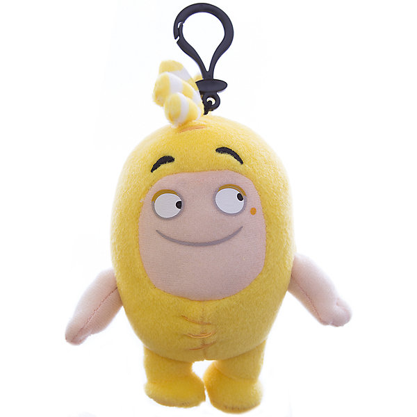 Мягкая игрушка-брелок Oddbods Баблз, 12 см
