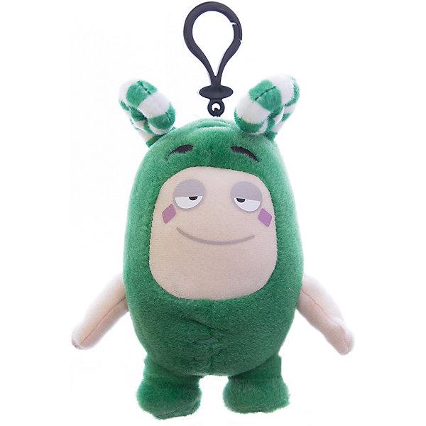 Мягкая игрушка-брелок Oddbods Зи, 12 смМягкие игрушки из мультфильмов<br>Фигурка плюшевая Oddbods, 12см Плюшевая фигурка Oddbods представлена в виде одного из персонажей популярного мультфильма с аналогичным названием. Для поклонников мультфильма, русскоязычное название которого - Чуддики, это отличная возможность в живую поиграть со своим любимым персонажем. Собрав несколько фигурок из данной коллекции, ребята смогут разыгрывать увлекательные сюжеты и сцены из мультфильма.<br><br>Ширина мм: 120<br>Глубина мм: 85<br>Высота мм: 80<br>Вес г: 0<br>Возраст от месяцев: 36<br>Возраст до месяцев: 120<br>Пол: Унисекс<br>Возраст: Детский<br>SKU: 7343082