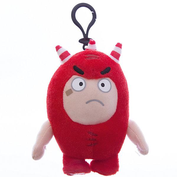 Мягкая игрушка-брелок Oddbods Фьюз, 12 смМягкие игрушки из мультфильмов<br>Фигурка плюшевая Oddbods, 12см Плюшевая фигурка Oddbods представлена в виде одного из персонажей популярного мультфильма с аналогичным названием. Для поклонников мультфильма, русскоязычное название которого - Чуддики, это отличная возможность в живую поиграть со своим любимым персонажем. Собрав несколько фигурок из данной коллекции, ребята смогут разыгрывать увлекательные сюжеты и сцены из мультфильма.<br><br>Ширина мм: 120<br>Глубина мм: 85<br>Высота мм: 80<br>Вес г: 0<br>Возраст от месяцев: 36<br>Возраст до месяцев: 120<br>Пол: Унисекс<br>Возраст: Детский<br>SKU: 7343083