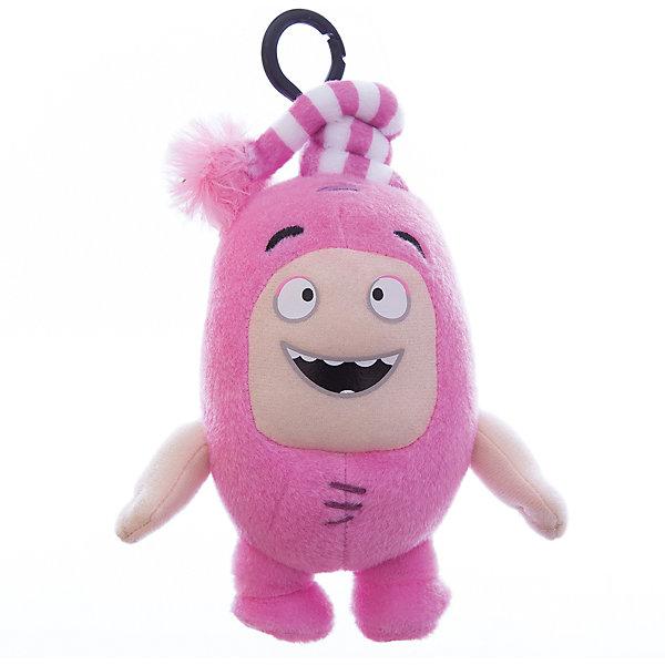 Мягкая игрушка-брелок Oddbods Ньют, 12 смМягкие игрушки из мультфильмов<br>Фигурка плюшевая Oddbods, 12см Плюшевая фигурка Oddbods представлена в виде одного из персонажей популярного мультфильма с аналогичным названием. Для поклонников мультфильма, русскоязычное название которого - Чуддики, это отличная возможность в живую поиграть со своим любимым персонажем. Собрав несколько фигурок из данной коллекции, ребята смогут разыгрывать увлекательные сюжеты и сцены из мультфильма.<br><br>Ширина мм: 120<br>Глубина мм: 85<br>Высота мм: 80<br>Вес г: 0<br>Возраст от месяцев: 36<br>Возраст до месяцев: 120<br>Пол: Унисекс<br>Возраст: Детский<br>SKU: 7343085