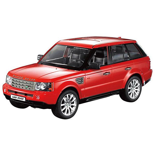 Радиоуправляемая машинка Rastar Range Rover Sport 1:14, краснаяРадиоуправляемые машины<br>Характеристики:<br><br>• возраст: от 6 лет:<br>• материал: металл, пластик;<br>• масштаб: 1:14;<br>• максимальная скорость: до 12 км/ч;<br>• в комплекте: машина, пульт управления;<br>• тип батареек: 5 батареек АА; 1 батарейка Крона;<br>• наличие батареек: нет в комплекте;<br>• вес упаковки: 1,43 кг.;<br>• размер упаковки: 45,5х21,5х19,5 см;<br>• страна производитель: Китай.<br><br>Масштабная копия легендарного автомобиля ? радиоуправляемая машинка Rastar Range Rover Sport увлечет в мир больших скоростей и приключений на дорогах.<br><br>Игрушка управляется с помощью удобного пульта на частоте 27MHz и может от него отдаляться на расстояние до 35 м. Машина обладает отличной маневренностью, ездит в четырех направлениях.<br><br>Range Rover Sport имеет задний привод и разгоняется на ровной дороге до 12 км/ч. Преодолевать препятствия на улице будет одно удовольствие! Кроме того, когда машина едет вперед, включаются фары, а когда тормозит или сдает назад — стоп-сигналы.<br><br>Радиоуправляемую машинку Rastar Range Rover Sport, 1:14 можно купить в нашем интернет-магазине.<br><br>Ширина мм: 455<br>Глубина мм: 215<br>Высота мм: 195<br>Вес г: 1430<br>Возраст от месяцев: 36<br>Возраст до месяцев: 180<br>Пол: Мужской<br>Возраст: Детский<br>SKU: 7345272