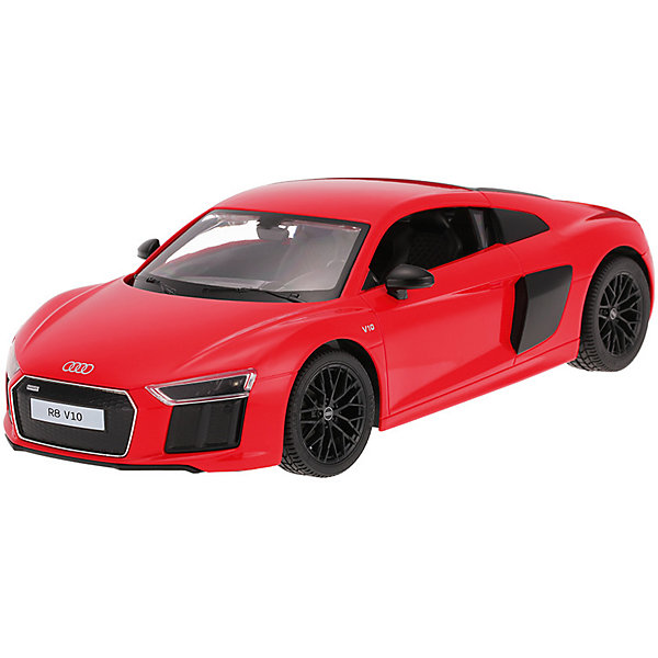 Радиоуправляемая машинка Rastar Audi R8 V10 2015 Version 1:14, краснаяРадиоуправляемые машины<br>Характеристики:<br><br>• возраст: от 6 лет:<br>• материал: пластик;<br>• масштаб: 1:14;<br>• в комплекте: машина, пульт управления;<br>• тип батареек: 5 батареек АА; 1 батарейка LR6 1.5V;<br>• наличие батареек: нет в комплекте;<br>• вес упаковки: 1,18 кг.;<br>• размер упаковки: 43х22,5х17,5 см;<br>• страна производитель: Китай.<br><br>Audi R8 — звезда спортивных автомобилей — теперь в уменьшенной копии R8 2015 Version от Rastar. Управление игрушкой осуществляется с помощью удобного пульта на частоте 27MHz, который позволяет ездить ей во все стороны на расстояние в десятки метров.<br>Мощные колеса и амортизация приспособлены к езде не только по ровной поверхности дома, но и на улице по асфальту и бугристой дороге, бросая вызов всем препятствиям. Авто едет вперед, включаются фары, а когда тормозит или сдает назад — стоп-сигналы. <br><br>Мини автомобиль понравится и детям, и взрослым, особенно тем, кто коллекционирует подобные экземпляры.<br><br>Радиоуправляемую машинку Rastar R8 2015 Version, 1:14 можно купить в нашем интернет-магазине.<br>Ширина мм: 430; Глубина мм: 225; Высота мм: 175; Вес г: 1183; Возраст от месяцев: 36; Возраст до месяцев: 180; Пол: Мужской; Возраст: Детский; SKU: 7345295;