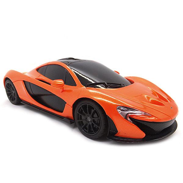 Радиоуправляемая машинка Rastar McLaren P1 1:14, оранжеваяРадиоуправляемые машины<br>Характеристики:<br><br>• возраст: от 6 лет:<br>• материал: металл, пластик;<br>• масштаб: 1:14;<br>• в комплекте: машина, пульт управления;<br>• тип батареек: 5 батареек АА; 1 батарейка 9V;<br>• наличие батареек: нет в комплекте;<br>• вес упаковки: 1,27 кг.;<br>• размер машины: 32х17х9 см;<br>• размер упаковки: 43х25,5х17,7 см;<br>• страна производитель: Китай.<br><br>Быстрый, мощный, спортивный автомобиль McLaren P1 в копии от Rastar. Управление игрушкой осуществляется с помощью удобного пульта на частоте 27MHz, который позволяет ездить ей во все стороны на расстояние в десятки метров.<br>Мощные колеса и амортизация приспособлены к езде не только по ровной поверхности дома, но и на улице по асфальту и бугристой дороге, бросая вызов всем препятствиям. Авто едет вперед, включаются фары, а когда тормозит или сдает назад — стоп-сигналы. Дверки открываются вручную.<br><br>Мини автомобиль понравится и детям, и взрослым, особенно тем, кто коллекционирует подобные экземпляры.<br><br>Радиоуправляемую машинку Rastar McLaren P1, 1:14 можно купить в нашем интернет-магазине.<br>Ширина мм: 430; Глубина мм: 255; Высота мм: 175; Вес г: 1275; Возраст от месяцев: 36; Возраст до месяцев: 180; Пол: Мужской; Возраст: Детский; SKU: 7345296;