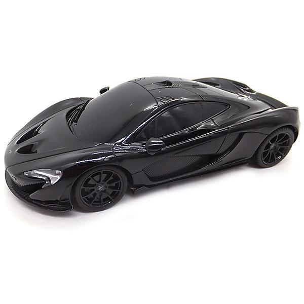 Радиоуправляемая машинка Rastar McLaren P1 1:14, чернаяРадиоуправляемые машины<br>Характеристики:<br><br>• возраст: от 6 лет:<br>• материал: металл, пластик;<br>• масштаб: 1:14;<br>• в комплекте: машина, пульт управления;<br>• тип батареек: 5 батареек АА; 1 батарейка 9V;<br>• наличие батареек: нет в комплекте;<br>• вес упаковки: 1,27 кг.;<br>• размер машины: 32х17х9 см;<br>• размер упаковки: 43х25,5х17,7 см;<br>• страна производитель: Китай.<br><br>Быстрый, мощный, спортивный автомобиль McLaren P1 в копии от Rastar. Управление игрушкой осуществляется с помощью удобного пульта на частоте 27MHz, который позволяет ездить ей во все стороны на расстояние в десятки метров.<br>Мощные колеса и амортизация приспособлены к езде не только по ровной поверхности дома, но и на улице по асфальту и бугристой дороге, бросая вызов всем препятствиям. Авто едет вперед, включаются фары, а когда тормозит или сдает назад — стоп-сигналы. Дверки открываются вручную.<br><br>Мини автомобиль понравится и детям, и взрослым, особенно тем, кто коллекционирует подобные экземпляры.<br><br>Радиоуправляемую машинку Rastar McLaren P1, 1:14 можно купить в нашем интернет-магазине.<br><br>Ширина мм: 430<br>Глубина мм: 255<br>Высота мм: 175<br>Вес г: 1275<br>Возраст от месяцев: 36<br>Возраст до месяцев: 180<br>Пол: Мужской<br>Возраст: Детский<br>SKU: 7345297
