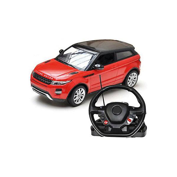 Радиоуправляемая машинка Rastar Range Rover Evoque 1:14, краснаяРадиоуправляемые машины<br>Характеристики:<br><br>• возраст: от 8 лет:<br>• материал: пластик;<br>• масштаб: 1:14;<br>• максимальная скорость: до 9 км/ч;<br>• двигатель: электрический;<br>• в комплекте: машина, пульт управления;<br>• тип батареек: 9 батареек АА;<br>• наличие батареек: нет в комплекте;<br>• вес упаковки: 2,08 кг.;<br>• размер упаковки: 47х38х35 см;<br>• страна производитель: Китай.<br><br>Масштабная копия легендарного автомобиля ? радиоуправляемая машинка Rastar Range Rover Evoque увлечет в мир больших скоростей и приключений на дорогах.<br><br>Игрушка управляется с помощью удобного пульт-руля на частоте 27MHz и может от него отдаляться на расстояние до 45 м. Машина обладает отличной маневренностью, ездит в четырех направлениях и при этом издает звуковые сигналы.<br><br>Range Rover Evoque имеет задний привод и разгоняется на ровной дороге до 9 км/ч. Преодолевать препятствия на улице будет одно удовольствие! Кроме того, когда машина едет вперед, включаются фары, а когда тормозит или сдает назад — стоп-сигналы.<br><br>Радиоуправляемую машинку Rastar Range Rover Evoque, 1:14 можно купить в нашем интернет-магазине.<br>Ширина мм: 470; Глубина мм: 380; Высота мм: 350; Вес г: 2079; Возраст от месяцев: 36; Возраст до месяцев: 180; Пол: Мужской; Возраст: Детский; SKU: 7345300;