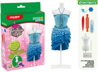 Масса для лепки Paulinda Мода и стиль: Наряд для куклы , голубой