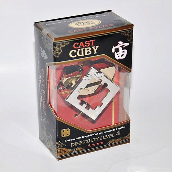 Головоломка КубикКлассические головоломки<br>Очень симпатичная и оригинальная головоломка. Изначально она задумывалась как лабиринт в форме куба с размещенной внутри объемной дугой. Положение пойманного внутри кубика предмета можно изменить, передвигая его уникальным образом. Удалить этот предмет, проходя по сложному объемному лабиринту, действительно не просто. Придумывая эту головоломку, начальное положение внутреннего предмета не было определено. По совету гениального японского изобретателя головоломок Ноба, стартовое положение головоломки было сделано похожим на лицо. Таким образом, была зафиксирована начальная точка, а головоломка превратилась в симпатичный «смайлик». Тема: Пространство. Автор идеи: Oskar, Нидерланды.<br>Ширина мм: 75; Глубина мм: 45; Высота мм: 120; Вес г: 169; Возраст от месяцев: 96; Возраст до месяцев: 2147483647; Пол: Унисекс; Возраст: Детский; SKU: 7363326;