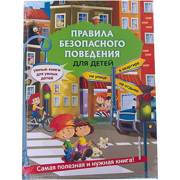 Правила безопасного поведения для детейКниги по педагогике<br>Основная задача книги — в увлекательной форме рассказать ребёнку как правильно вести себя в сложных ситуациях, с которыми он сталкивается каждый день. Благодаря этой книге малыш легко усвоит правила безопасного поведения дома, на улице, на отдыхе. Вместе с главными героями — любознательными детьми Лизой и Димой — ребёнок узнает, почему взрослые что-то запрещают, и что может случиться, если не слушать советы старших. <br>       Занятия построены по принципу «изучаем — закрепляем — проверяем». Сначала — поучительная история, затем — дополнительная информация, раскрывающая тему. Блоки «Я знаю, что можно» и «Я знаю, что нельзя» желательно заучить с малышом наизусть. Материал раздела «Что делать если …» — это краткие и чёткие советы о том, как вести себя в опасной ситуации. Для закрепления пройденного материала, предусмотрены тематические задания. Далее — небольшой тест, который позволит легко и быстро проконтролировать знания ребёнка и убедиться в том, что ребенок осознал необходимость выполнения этого правила.  Игровая форма подачи материала сделает процесс обучения интересным, увлекательным и эффективным. Адресовано детям дошкольного возраста, родителям, воспитателям ДОУ и может использоваться, как для занятий дома, так и в детских садах.<br>Ширина мм: 280; Глубина мм: 210; Высота мм: 12; Вес г: 586; Возраст от месяцев: 48; Возраст до месяцев: 72; Пол: Унисекс; Возраст: Детский; SKU: 7367764;
