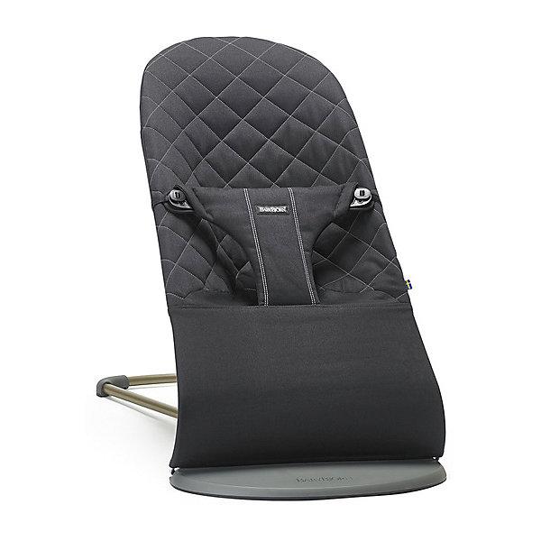 Кресло-шезлонг BabyBjorn Bouncer Bliss Cotton, черный
