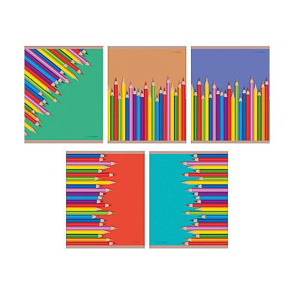 Цветные карандаши 48л., 5 видовБумажная продукция<br>Характеристики:<br><br>• возраст: от 7 лет<br>• в наборе: 1 тетрадь<br>• формат: А5<br>• количество листов: 48<br>• обложка: мелованный картон, матовая ламинация, выборочный лак<br>• внутренний блок: офсет, плотностью 60 г/м2, клетка, с полями<br>• крепление: скрепка<br>• дизайн обложки в ассортименте (5 видов)<br>• ВНИМАНИЕ! Данный артикул представлен в разных вариантах исполнения. К сожалению, заранее выбрать определенный вариант невозможно. При заказе нескольких тетрадей возможно получение одинаковых<br><br>Тетрадь в клетку с полями «Цветные карандаши» предназначена для школьников. Отличная полиграфия и качественная бумага обеспечат высокое качество письма. Обложка из мелованного картона позволит сохранять тетрадь в аккуратном виде в течение всего периода использования.<br><br>Тетрадь «Цветные карандаши» 48л., 5 видов можно купить в нашем интернет-магазине.<br><br>Ширина мм: 202<br>Глубина мм: 4<br>Высота мм: 163<br>Вес г: 103<br>Возраст от месяцев: 84<br>Возраст до месяцев: 2147483647<br>Пол: Унисекс<br>Возраст: Детский<br>SKU: 7373861