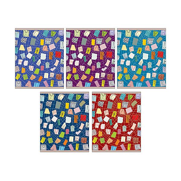 Паутина идейБумажная продукция<br>Характеристики:<br><br>• возраст: от 7 лет<br>• в наборе: 1 тетрадь<br>• формат: А5<br>• количество листов: 48<br>• обложка: мелованный картон, тиснение фольгой, матовая ламинация, выборочный лак<br>• внутренний блок: офсет, плотностью 60 г/м2, клетка<br>• крепление: скрепка<br>• дизайн обложки в ассортименте (5 видов)<br>• ВНИМАНИЕ! Данный артикул представлен в разных вариантах исполнения. К сожалению, заранее выбрать определенный вариант невозможно. При заказе нескольких тетрадей возможно получение одинаковых<br><br>Тетрадь в клетку «Паутина идей» предназначена для школьников. Отличная полиграфия и качественная бумага обеспечат высокое качество письма. Обложка из мелованного картона позволит сохранять тетрадь в аккуратном виде в течение всего периода использования.<br><br>Тетрадь «Паутина идей» можно купить в нашем интернет-магазине.<br>Ширина мм: 202; Глубина мм: 5; Высота мм: 163; Вес г: 105; Возраст от месяцев: 84; Возраст до месяцев: 2147483647; Пол: Унисекс; Возраст: Детский; SKU: 7373863;