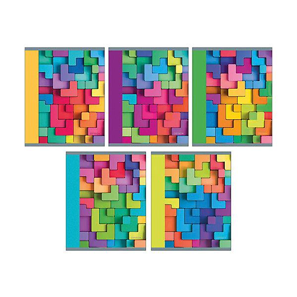Тетрадь Яркая мозаика 48 л, клеткаБумажная продукция<br>Характеристики:<br><br>• возраст: от 7 лет<br>• в наборе: 1 тетрадь<br>• формат: А5<br>• количество листов: 48<br>• обложка: мелованный картон<br>• внутренний блок: офсет, плотностью 60 г/м2, клетка<br>• крепление: скрепка<br>• дизайн обложки в ассортименте (5 видов)<br>• ВНИМАНИЕ! Данный артикул представлен в разных вариантах исполнения. К сожалению, заранее выбрать определенный вариант невозможно. При заказе нескольких тетрадей возможно получение одинаковых<br><br>Тетрадь в клетку «Яркая мозаика» предназначена для школьников. Отличная полиграфия и качественная бумага обеспечат высокое качество письма. Обложка из мелованного картона позволит сохранять тетрадь в аккуратном виде в течение всего периода использования.<br><br>Тетрадь «Яркая мозаика» можно купить в нашем интернет-магазине.<br>Ширина мм: 202; Глубина мм: 4; Высота мм: 165; Вес г: 103; Возраст от месяцев: 84; Возраст до месяцев: 2147483647; Пол: Унисекс; Возраст: Детский; SKU: 7373865;