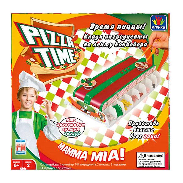 Настольная игра Fotorama Pizza TimeНастольные игры для всей семьи<br>Собери пиццу по рецепту при помощи конвейера: выкладывай ингредиенты на ленту в верном порядке при помощи пинцета. Выигрывает тот, кто сделал больше пицц.<br>Для работы требуются батарейки – 4 шт. типа АА (в комплект не входят)<br>Ширина мм: 280; Глубина мм: 80; Высота мм: 270; Вес г: 767; Возраст от месяцев: 72; Возраст до месяцев: 2147483647; Пол: Унисекс; Возраст: Детский; SKU: 7373955;