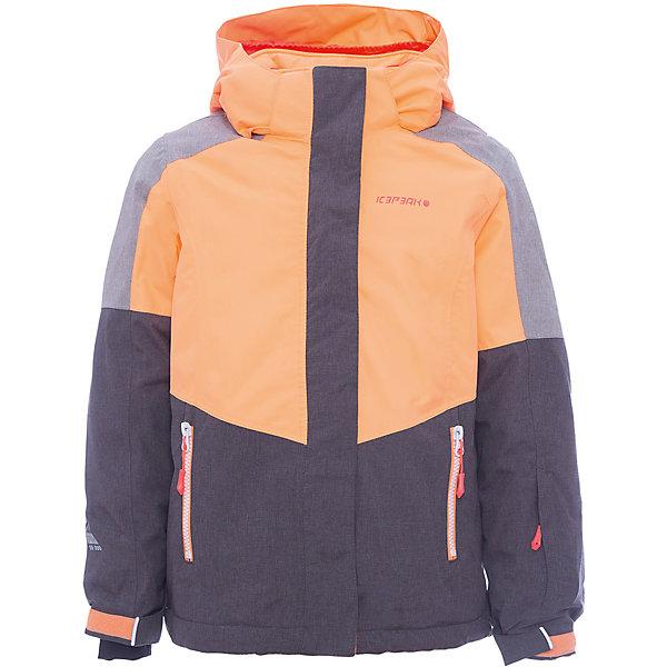 Куртка ICEPEAK для девочкиВерхняя одежда<br>Характеристики товара:<br><br>• цвет: оранжевый<br>• состав ткани: 100% полиэстер<br>• подкладка: 100% полиэстер<br>• утеплитель: 100% полиэстер<br>• сезон: зима<br>• температурный режим: от -25 до 0<br>• плотность утеплителя: 190/110 м2<br>• особенности модели: с капюшоном<br>• капюшон: без меха, съемный<br>• застежка: молния<br>• страна бренда: Финляндия<br>• страна изготовитель: Китай<br><br>Яркая и теплая детская куртка отлично подойдет для зимних холодов. Зимняя куртка дополнена удобными деталями - молния закрыта планкой, есть карманы и капюшон, утяжка, защита подбородка, снегозащитная юбка, регулируемый манжет, светоотражающие элементы. Обеспечить ребенку тепло и комфорт в морозы поможет такая куртка для девочки. <br><br>Куртку Icepeak (Айспик) для девочки можно купить в нашем интернет-магазине.<br>Ширина мм: 356; Глубина мм: 10; Высота мм: 245; Вес г: 519; Цвет: оранжевый; Возраст от месяцев: 180; Возраст до месяцев: 192; Пол: Женский; Возраст: Детский; Размер: 176,128,140,152,164; SKU: 7373981;