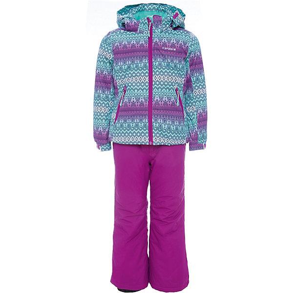 Комплект: куртка и брюки ICEPEAK для девочкиВерхняя одежда<br>Характеристики товара:<br><br>• цвет: фиолетовый <br>• комплектация: куртка и брюки <br>• состав ткани: 100% полиэстер<br>• подкладка: 100% полиэстер<br>• утеплитель: 100% полиэстер<br>• сезон: зима<br>• температурный режим: от -25 до 0<br>• особенности модели: с капюшоном<br>• капюшон: без меха, съемный<br>• плотность утеплителя: 190/110 м2<br>• застежка: молния<br>• страна бренда: Финляндия<br>• страна изготовитель: Китай<br><br>Яркий детский комплект для зимы от известного финского бренда Icepeak состоит из куртки и брюк. Комплект для девочки дополнен светоотражающими элементами. Брюки - с лямками, куртка - с карманами, планкой от ветра, утяжкой по низу и капюшоном. Удобный теплый комплект для ребенка позволит наслаждаться зимой, не боясь замерзнуть. <br><br>Комплект: куртка и брюки Icepeak (Айспик) для девочки можно купить в нашем интернет-магазине.<br>Ширина мм: 356; Глубина мм: 10; Высота мм: 245; Вес г: 519; Цвет: лиловый; Возраст от месяцев: 84; Возраст до месяцев: 96; Пол: Женский; Возраст: Детский; Размер: 128,140,116,176,164,152; SKU: 7373994;