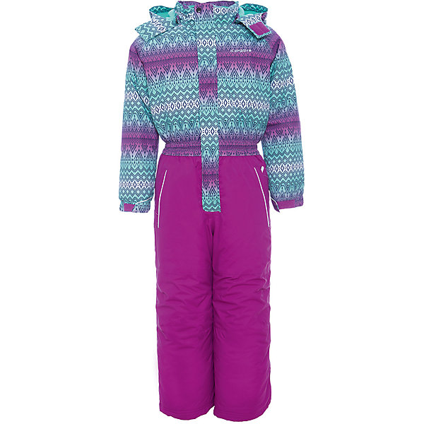 Комбинезон ICEPEAK для девочкиВерхняя одежда<br>Характеристики товара:<br><br>• цвет: фиолетовый<br>• состав ткани: 100% полиэстер<br>• подкладка: 100% полиэстер<br>• утеплитель: 100% полиэстер<br>• сезон: зима<br>• температурный режим: от -25 до 0<br>• особенности модели: с капюшоном<br>• капюшон: без меха, съемный<br>• плотность утеплителя: 190/110 м2<br>• застежка: молния<br>• штрипки: отстегиваются<br>• страна бренда: Финляндия<br>• страна изготовитель: Китай<br><br>Этот детский комбинезон легко надевается и снимается. Плотную ткань верха этого детского зимнего комбинезона легко чистить. Для удобства ребенка зимний комбинезон снабжен снегозащитной юбкой со стянутой по краю резиновой тесьмой, ветрозащитной планкой, отстегивающимся капюшоном. На детском комбинезоне есть светоотражающие элементы.<br><br>Комбинезон Icepeak (Айспик) для девочки можно купить в нашем интернет-магазине.<br><br>Ширина мм: 356<br>Глубина мм: 10<br>Высота мм: 245<br>Вес г: 519<br>Цвет: лиловый<br>Возраст от месяцев: 72<br>Возраст до месяцев: 84<br>Пол: Женский<br>Возраст: Детский<br>Размер: 122,92,98,104,110,116<br>SKU: 7374036