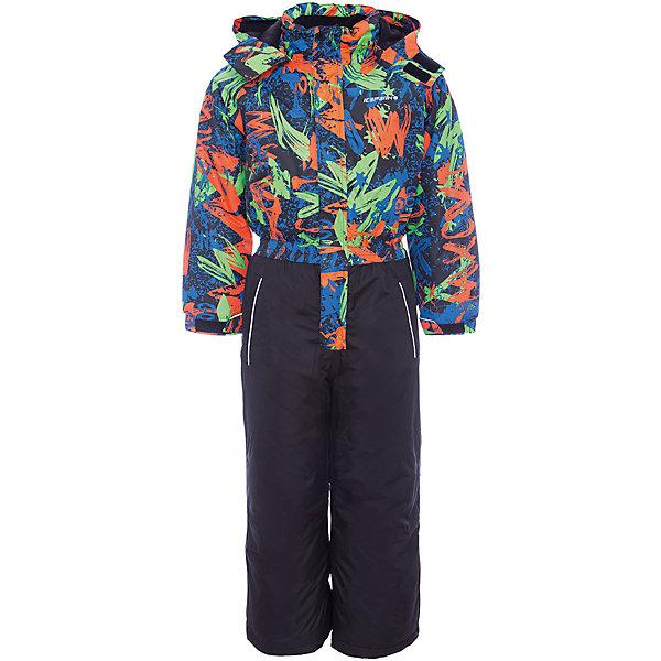 Комбинезон ICEPEAK для мальчикаВерхняя одежда<br>Характеристики товара:<br><br>• цвет: черный<br>• состав ткани: 100% полиэстер<br>• подкладка: 100% полиэстер<br>• утеплитель: 100% полиэстер<br>• сезон: зима<br>• температурный режим: от -25 до 0<br>• особенности модели: с капюшоном<br>• капюшон: без меха, съемный<br>• плотность утеплителя: 190/110 м2<br>• застежка: молния<br>• штрипки: отстегиваются<br>• страна бренда: Финляндия<br>• страна изготовитель: Китай<br><br>Не замерзать и наслаждаться зимними развлечениями поможет теплый детский комбинезон. Зимний комбинезон - с ветрозащитной планкой, утяжкой по низу, снегозащитной юбкой. Теплый комбинезон для мальчика снабжен удобной молнией, карманами и капюшоном, а также светоотражающими элементами для безопасности ребенка. <br><br>Комбинезон Icepeak (Айспик) для мальчика можно купить в нашем интернет-магазине.<br>Ширина мм: 356; Глубина мм: 10; Высота мм: 245; Вес г: 519; Цвет: черный; Возраст от месяцев: 18; Возраст до месяцев: 24; Пол: Мужской; Возраст: Детский; Размер: 92,122,116,110,104,98; SKU: 7374043;