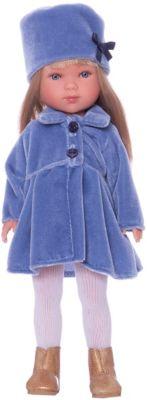 Классическая кукла Vestida de Azul Снегурочка Карлотта блондинка с челкой, 28 см