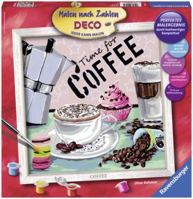Ravensburger Раскрашивание по номерам «Кофе» Размер картинки – 30*30 см