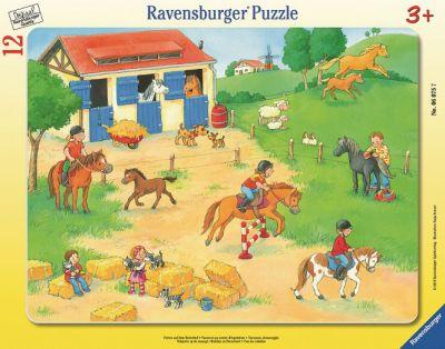 Ravensburger Пазл «Выходные на конюшне» 12шт