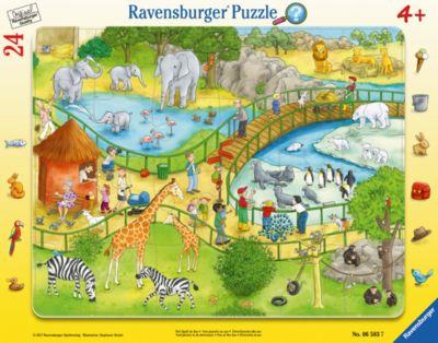 Ravensburger Пазл Весёлый зоопарк 24 шт