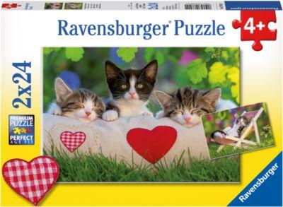 Ravensburger Пазл «Котята отдыхают» 2х24шт