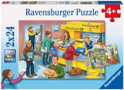 Ravensburger Пазл Работающая почта 2х24 шт
