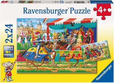 Ravensburger Пазл «Рыцари» 2х24шт