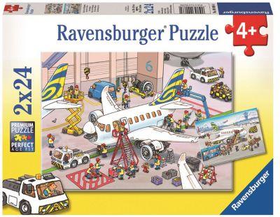 Ravensburger Пазл «Все о самолетах» 2х24шт