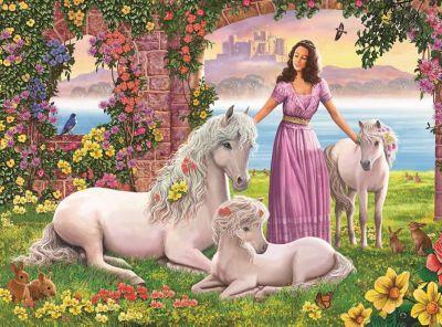 Ravensburger Пазл «Сказочное королевство» XXL150 шт