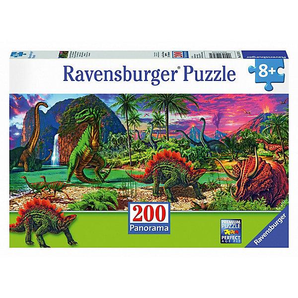 Пазл «Юрский период» XXL100 штПазлы для малышей<br>Характеристики:<br><br>• тип игрушки: пазл;<br>• комплектация: 100 эл.;<br>• бренд: Ravensburger;<br>• упаковка: картон;<br>• размер: 34х4х23 см;<br>• вес: 575 гр;<br>• возраст: от 6 лет;<br>• материал: картон.<br><br>Пазл «Юрский период» XXL 100 шт представляет из себя увлекательную игру для детей от шести лет. Набор состоит из 100 деталей, выполненных из высококачественного картона. Из них предлагается собрать изображение животных юрского периода. Головоломки Ravensburger всегда отличаются высоким качеством полиграфии, изготовлены из экологичного сырья.   Рисунок имеет матовую поверхность без бликов, напечатан на ламинированной бумаге. <br><br>Пазл сделан из плотного картона, с нанесением яркого красочного рисунка и аккуратной вырубкой деталей с четкими гладкими краями, которые позволяют легко состыковывать элементы пазла между собой. Сборка данного пазла сможет увлечь детей и поспособствовать развитию логического мышления и усидчивости.  Они также развивают образное мышление, наблюдательность и внимательность, а также мелкую моторику и координацию движений рук.<br><br>Пазл «Юрский период» XXL 100 шт можно купить в нашем интернет-магазине.<br><br>Ширина мм: 340<br>Глубина мм: 40<br>Высота мм: 230<br>Вес г: 575<br>Возраст от месяцев: -2147483648<br>Возраст до месяцев: 2147483647<br>Пол: Унисекс<br>Возраст: Детский<br>SKU: 7376900