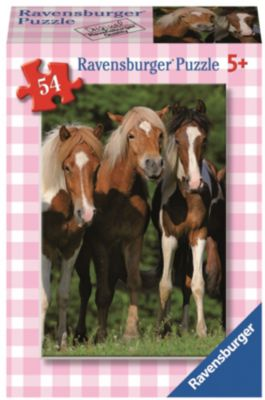 Ravensburger Минипазл «Лошади» 54 элемента 45 шт в дисплее #