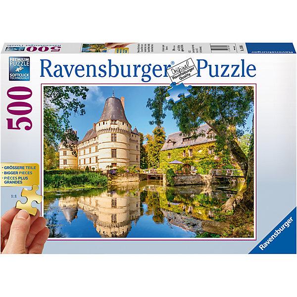 Пазл Замок Ислетт, Франция 500 штПазлы до 500 деталей<br>Характеристики:<br><br>• тип игрушки: пазл;<br>• комплектация: 500 эл;<br>• бренд: Ravensburger;<br>• упаковка: картон;<br>• размер: 34х6х23 см;<br>• вес: 752 гр;<br>• возраст: от 6 лет;<br>• материал: картон.<br><br>Пазл «Замок Ислетт, Франция» 500 элементов представляет из себя увлекательную игру для детей от шести лет. Набор состоит из 500 деталей, выполненных из высококачественного картона. Из них предлагается собрать изображение одного из смых красивых замков во Франции – Ислетт. Замок изображен на фоне красивой реки.   <br>Головоломки Ravensburger всегда отличаются высоким качеством полиграфии, изготовлены из экологичного сырья. Рисунок имеет матовую поверхность без бликов, напечатан на ламинированной бумаге. Пазл сделан из плотного картона, с нанесением красочного рисунка и аккуратной вырубкой деталей с четкими гладкими краями, которые позволяют легко состыковывать элементы пазла между собой. Сборка данного пазла сможет увлечь детей и поспособствовать развитию логического мышления и усидчивости.  Они также развивают образное мышление, наблюдательность и внимательность, а также мелкую моторику и координацию движений рук.<br>Пазл «Замок Ислетт, Франция» 500 элементов можно купить в нашем интернет-магазине.<br>Ширина мм: 340; Глубина мм: 60; Высота мм: 230; Вес г: 752; Возраст от месяцев: -2147483648; Возраст до месяцев: 2147483647; Пол: Унисекс; Возраст: Детский; SKU: 7376967;