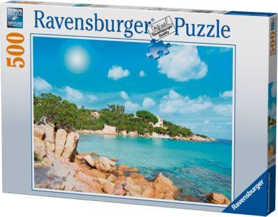 Ravensburger Пазл «Пляж в Сардинии» 500 шт