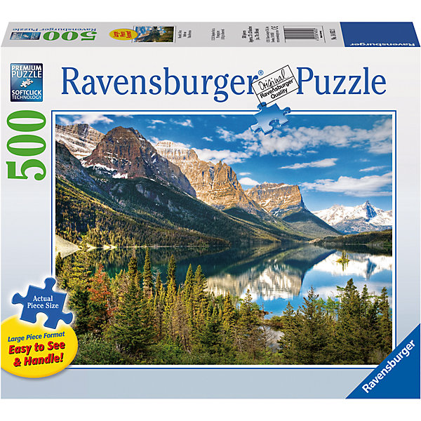 Пазл «Живописные горы» 500 штПазлы до 500 деталей<br>Характеристики:<br><br>• тип игрушки: пазл;<br>• комплектация: 500 эл;<br>• бренд: Ravensburger;<br>• упаковка: картон;<br>• размер: 34х4х23 см;<br>• вес: 886 гр;<br>• возраст: от 6 лет;<br>• материал: картон.<br><br>Пазл «Живописные горы» 500 элементов представляет из себя увлекательную игру для детей от шести лет. Набор состоит из 500 деталей, выполненных из высококачественного картона. Из них предлагается собрать изображение горного пейзажа. Тут и заснеженные вершины, и горная река и, конечно же, густой лес. Такой пейзаж станет отличным украшением любого интерьера.      <br>Головоломки Ravensburger всегда отличаются высоким качеством полиграфии, изготовлены из экологичного сырья. Собранный пазл будет иметь матовую поверхность без бликов, потому как напечатан на качественной ламинированной бумаге. Пазл сделан из плотного картона, с нанесением красочного рисунка и аккуратной вырубкой деталей с четкими гладкими краями, которые позволяют легко состыковывать элементы пазла между собой. Сборка данного пазла сможет увлечь детей и поспособствовать развитию логического мышления и усидчивости.  Они также развивают образное мышление, наблюдательность и внимательность, а также мелкую моторику и координацию движений рук.<br>Пазл «Живописные горы» 500 элементов можно купить в нашем интернет-магазине.<br>Ширина мм: 340; Глубина мм: 40; Высота мм: 230; Вес г: 886; Возраст от месяцев: -2147483648; Возраст до месяцев: 2147483647; Пол: Унисекс; Возраст: Детский; SKU: 7377017;