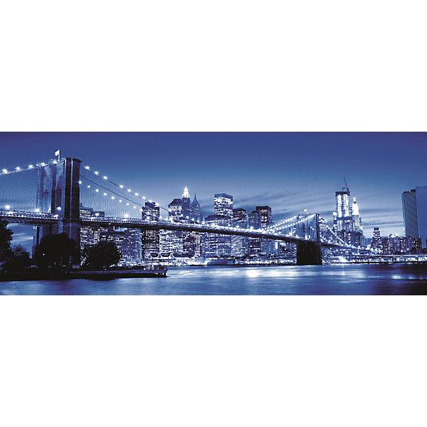 Пазл панорамный «Ночь в Нью-Йорке» 1000 штПазлы до 1000 деталей<br>Характеристики:<br><br>• тип игрушки: пазл;<br>• комплектация: 500 эл.;<br>• бренд: Ravensburger;<br>• упаковка: картон;<br>• размер: 37х5,5х27 см;<br>• вес: 1 кг;<br>• возраст: от 4 лет;<br>• материал: картон.<br><br>Пазл панорамный «Ночь в Нью-Йорке» 1000 шт представляет из себя увлекательную игру для детей от четырех лет. Набор состоит из 500 деталей, выполненных из высококачественного картона. Из них предлагается собрать  изображение снимка ночного Нью-Йорка.<br><br>Пазл сделан из плотного картона, с нанесением яркого красочного рисунка и аккуратной вырубкой деталей с четкими гладкими краями, которые позволяют легко состыковывать элементы пазла между собой. Сборка данного пазла сможет увлечь детей и поспособствовать развитию логического мышления и усидчивости.  Они также развивают образное мышление, наблюдательность и внимательность, а также мелкую моторику и координацию движений рук. Собранную картинку можно поместить в рамку и использовать ее в качестве украшения интерьера.<br><br>Пазл панорамный «Ночь в Нью-Йорке» 1000 штможно купить в нашем интернет-магазине.<br>Ширина мм: 370; Глубина мм: 55; Высота мм: 270; Вес г: 1000; Возраст от месяцев: -2147483648; Возраст до месяцев: 2147483647; Пол: Унисекс; Возраст: Детский; SKU: 7377032;