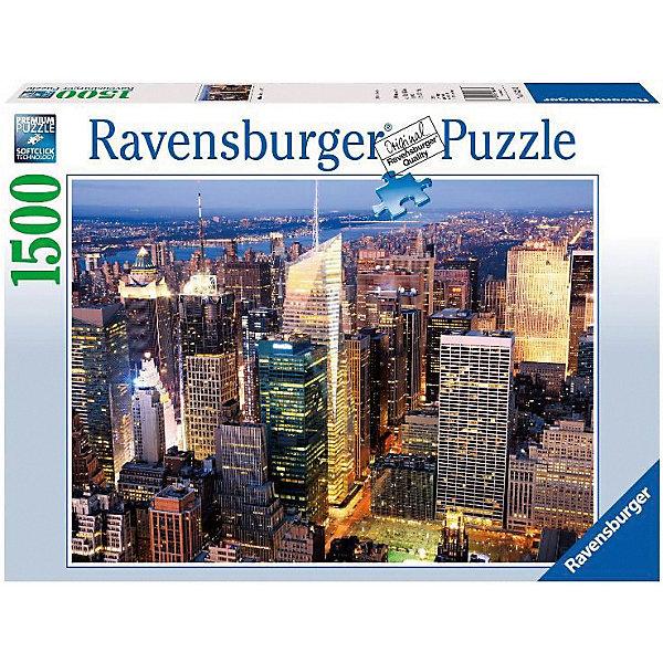 Пазл «Центр Манхэттена» 1500 штПазлы классические<br>Характеристики:<br><br>• тип игрушки: пазл;<br>• комплектация: 1500 эл.;<br>• бренд: Ravensburger;<br>• упаковка: картон;<br>• размер: 27х6х37 см;<br>• вес: 1,1 кг;<br>• возраст: от 4 лет;<br>• материал: картон.<br><br>Пазл «Центр Манхэттена» 1500 шт представляет из себя увлекательную игру для детей от четырех лет. Набор состоит из 1500 деталей, выполненных из высококачественного картона. Из них предлагается собрать  изображение шумного города Манхеттэна.<br><br>Пазл сделан из плотного картона, с нанесением яркого красочного рисунка и аккуратной вырубкой деталей с четкими гладкими краями, которые позволяют легко состыковывать элементы пазла между собой. Сборка данного пазла сможет увлечь детей и поспособствовать развитию логического мышления и усидчивости.  Они также развивают образное мышление, наблюдательность и внимательность, а также мелкую моторику и координацию движений рук. Собранную картинку можно поместить в рамку и использовать ее в качестве украшения интерьера.<br><br>Пазл «Центр Манхэттена» 1500 шт можно купить в нашем интернет-магазине.<br><br>Ширина мм: 370<br>Глубина мм: 55<br>Высота мм: 270<br>Вес г: 1106<br>Возраст от месяцев: -2147483648<br>Возраст до месяцев: 2147483647<br>Пол: Унисекс<br>Возраст: Детский<br>SKU: 7377055