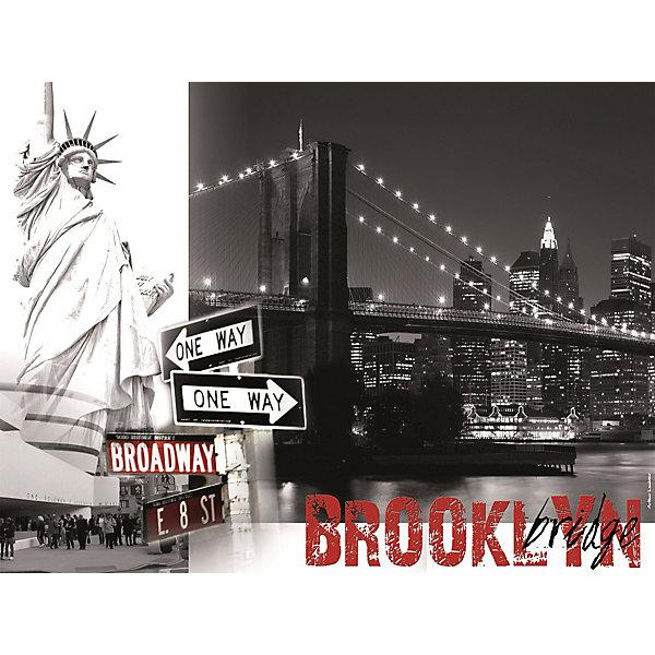 Пазл «Бруклинский мост» 1500 штПазлы до 2000 деталей<br>Характеристики:<br><br>• тип игрушки: пазл;<br>• комплектация: 1500 эл.;<br>• бренд: Ravensburger;<br>• упаковка: картон;<br>• размер: 27х6х37 см;<br>• вес: 1,1 кг;<br>• возраст: от 4 лет;<br>• материал: картон.<br><br>Пазл «Бруклинский мост» 1500 шт представляет из себя увлекательную игру для детей от четырех лет. Набор состоит из 1500 деталей, выполненных из высококачественного картона. Из них предлагается собрать  изображение изысканного Бруклинского моста в черно-белых тонах. Такой большой пазл могут собирать как дети, так и взрослые.<br><br>Пазл сделан из плотного картона, с нанесением яркого красочного рисунка и аккуратной вырубкой деталей с четкими гладкими краями, которые позволяют легко состыковывать элементы пазла между собой. Сборка данного пазла сможет увлечь детей и поспособствовать развитию логического мышления и усидчивости.  Они также развивают образное мышление, наблюдательность и внимательность, а также мелкую моторику и координацию движений рук. Собранную картинку можно поместить в рамку и использовать ее в качестве украшения интерьера.<br><br>Пазл «Бруклинский мост» 1500 шт можно купить в нашем интернет-магазине.<br>Ширина мм: 370; Глубина мм: 55; Высота мм: 270; Вес г: 1106; Возраст от месяцев: -2147483648; Возраст до месяцев: 2147483647; Пол: Унисекс; Возраст: Детский; SKU: 7377059;