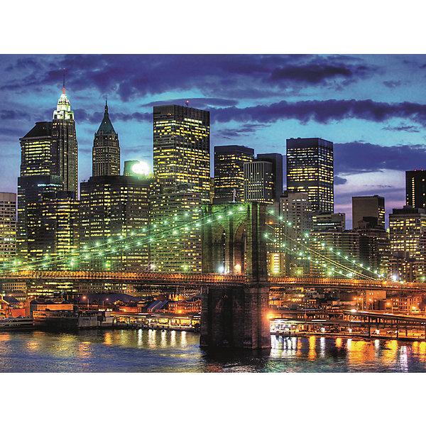 Пазл «Небоскребы Нью-Йорка» 1500 штПазлы классические<br>Характеристики:<br><br>• тип игрушки: пазл;<br>• комплектация: 1500 эл.;<br>• бренд: Ravensburger;<br>• упаковка: картон;<br>• размер: 27х6х37 см;<br>• вес: 1,1 кг;<br>• возраст: от 4 лет;<br>• материал: картон.<br><br>Пазл «Небоскребы Нью-Йорка» 1500 шт представляет из себя увлекательную игру для детей от четырех лет. Набор состоит из 1500 деталей, выполненных из высококачественного картона. Из них предлагается собрать  изображение высоких небоскребов Нью-Йорка. Такой большой пазл могут собирать как дети, так и взрослые.<br><br>Пазл сделан из плотного картона, с нанесением яркого красочного рисунка и аккуратной вырубкой деталей с четкими гладкими краями, которые позволяют легко состыковывать элементы пазла между собой. Сборка данного пазла сможет увлечь детей и поспособствовать развитию логического мышления и усидчивости.  Они также развивают образное мышление, наблюдательность и внимательность, а также мелкую моторику и координацию движений рук. Собранную картинку можно поместить в рамку и использовать ее в качестве украшения интерьера.<br><br>Пазл «Небоскребы Нью-Йорка» 1500 шт можно купить в нашем интернет-магазине.<br>Ширина мм: 370; Глубина мм: 55; Высота мм: 270; Вес г: 1106; Возраст от месяцев: -2147483648; Возраст до месяцев: 2147483647; Пол: Унисекс; Возраст: Детский; SKU: 7377060;