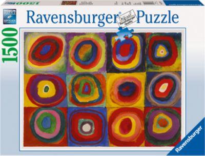 Ravensburger Пазл «Кандинский: цветной эскиз» 1500 шт