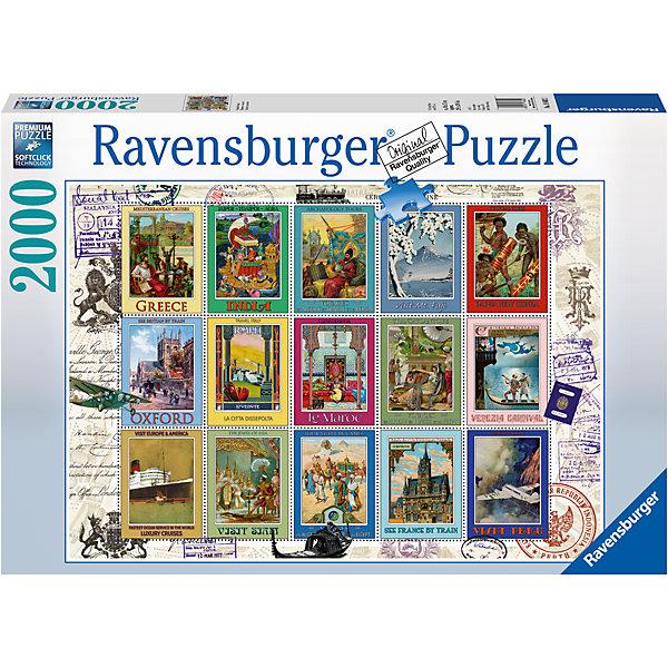 Пазл «Коллекция марок» 2000 штПазлы классические<br>Характеристики:<br><br>• тип игрушки: пазл;<br>• комплектация: 2000 эл.;<br>• бренд: Ravensburger;<br>• упаковка: картон;<br>• размер: 43х6х30 см;<br>• вес: 1,58 кг;<br>• возраст: от 4 лет;<br>• материал: картон.<br><br>Пазл «Коллекция марок» 2000 шт представляет из себя увлекательную игру для детей от четырех лет. Набор состоит из 2000 деталей, выполненных из высококачественного картона. Из них предлагается собрать  изображение коллекции почтовых марок. Большой пазл подходит как для детей, так и для взрослых.<br><br>Пазл сделан из плотного картона, с нанесением яркого красочного рисунка и аккуратной вырубкой деталей с четкими гладкими краями, которые позволяют легко состыковывать элементы пазла между собой. Сборка данного пазла сможет увлечь детей и поспособствовать развитию логического мышления и усидчивости.  Они также развивают образное мышление, наблюдательность и внимательность, а также мелкую моторику и координацию движений рук. Собранную картинку можно поместить в рамку и использовать ее в качестве украшения интерьера.<br><br>Пазл «Коллекция марок» 2000 шт можно купить в нашем интернет-магазине.<br>Ширина мм: 430; Глубина мм: 60; Высота мм: 300; Вес г: 1572; Возраст от месяцев: -2147483648; Возраст до месяцев: 2147483647; Пол: Унисекс; Возраст: Детский; SKU: 7377078;
