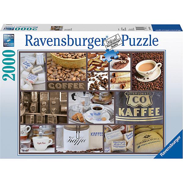 Пазл «Кофе-брейк» 2000 штПазлы до 2000 деталей<br>Характеристики:<br><br>• тип игрушки: пазл;<br>• комплектация: 2000 эл.;<br>• бренд: Ravensburger;<br>• упаковка: картон;<br>• размер: 43х6х30 см;<br>• вес: 1,58 кг;<br>• возраст: от 4 лет;<br>• материал: картон.<br><br>Пазл «Кофе-брейк» 2000 шт представляет из себя увлекательную игру для детей от четырех лет. Набор состоит из 2000 деталей, выполненных из высококачественного картона. Из них предлагается собрать  изображение всех предметов и атрибутов, связанных с кофе, а также с его приготовлением и употреблением. Большой пазл подходит как для детей, так и для взрослых.<br><br>Пазл сделан из плотного картона, с нанесением яркого красочного рисунка и аккуратной вырубкой деталей с четкими гладкими краями, которые позволяют легко состыковывать элементы пазла между собой. Сборка данного пазла сможет увлечь детей и поспособствовать развитию логического мышления и усидчивости.  Они также развивают образное мышление, наблюдательность и внимательность, а также мелкую моторику и координацию движений рук. Собранную картинку можно поместить в рамку и использовать ее в качестве украшения интерьера.<br><br>Пазл «Кофе-брейк» 2000 шт можно купить в нашем интернет-магазине.<br>Ширина мм: 430; Глубина мм: 60; Высота мм: 300; Вес г: 1553; Возраст от месяцев: -2147483648; Возраст до месяцев: 2147483647; Пол: Унисекс; Возраст: Детский; SKU: 7377079;