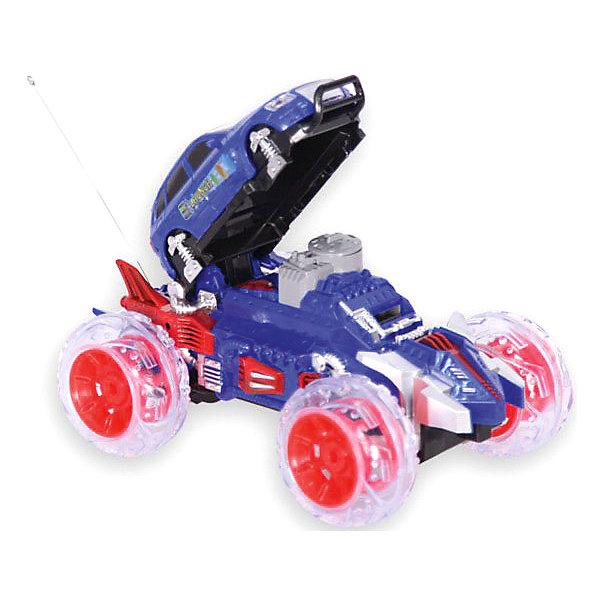 Радиоуправляемая машинка Mioshi Disc shooter 24.5 см, синяяРадиоуправляемые машины<br>Характеристики:<br><br>• возраст: от 6 лет;<br>• материал: пластик;<br>• в комплекте: машинка, пульт управления, мягкие диски для стрельбы, зарядное устройство, аккумуляторная батарейка для автомобиля;<br>• тип батареек: 1х9V (Крона);<br>• наличие батареек: в комплекте;<br>• время игры: 15 минут;<br>• время зарядки: 2 часа;<br>• вес упаковки: 1 кг.;<br>• размер упаковки: 33х24х20 см;<br>• страна производитель: Китай.<br><br>Радиоуправляемый автомобиль Disc shooter от Mioshi обладает мощными колесами и подвеской, благодаря которым легко преодолевает разные препятствия на своем пути. Игрушка трансформируется и может стрелять мягкими дисками. Машина едет в 4 стороны, управление происходит через удобный пульт с рычагами.<br><br>Колеса автомобиля подсвечены, имеется звуковое сопровождение, также при движении можно включить одну из 3-х музыкальных мелодий. Детали крепко соединены между собой, поэтому машине не страшны несильные удары и падения.<br><br>Автомобиль р/у «Disc shooter» (желтый, 24,5 см) можно купить в нашем интернет-магазине.<br><br>Ширина мм: 330<br>Глубина мм: 240<br>Высота мм: 200<br>Вес г: 1000<br>Возраст от месяцев: 72<br>Возраст до месяцев: 1188<br>Пол: Мужской<br>Возраст: Детский<br>SKU: 7377560