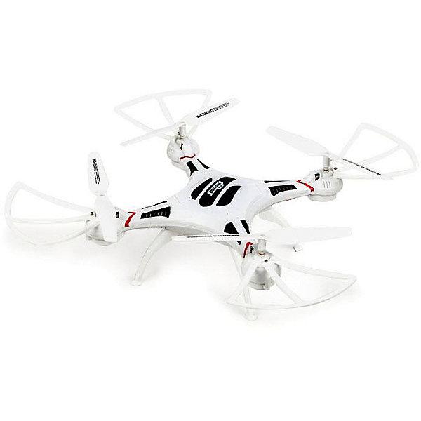 Квадрокоптер Mioshi 3D Макси-дрон 27Квадрокоптеры<br>Характеристики:<br><br>• возраст: от 8 лет;<br>• материал: пластик;<br>• в комплекте: квадрокоптер, ПДУ, USB зарядное устройство, запасные детали, аккумуляторная батарея, инструкция;<br>• особенности: встроенная гироскопическая система 6axis, LED-подсветка, wi-fi, камера 0,3 Мп;<br>• размер игрушки: 27,5 см;<br>• вес упаковки: 820 гр.;<br>• размер упаковки: 30,3х41х9 см;<br>• страна производитель: Китай.<br><br>С помощью квадрокоптера «3D Макси-дрон-27» от Mioshi можно снимать невероятные видеоматериалы с высоты птичьего полета. Такое развлечение понравится детям и увлечет взрослых.<br><br>Квадрокоптер управляется дистанционно в любом направлении с помощью пульта. Встроенная гироскопическая система 6axis обеспечивает ровное движение и маневренное боковое скольжение. Благодаря оснащению wi-fi за тем, что снимается в полете можно наблюдать в прямом эфире. Для этого нужно скачать мобильное приложение. Встроенная LED-подсветка улучшит видимость в вечернее время, и игрушка не потеряется.<br><br>Квадрокоптер выполнен из прочного и легкого пластика, а детали надежно скреплены между собой.<br><br>Квадрокоптер р/у «3D Макси-дрон-27» можно купить в нашем интернет-магазине.<br>Ширина мм: 303; Глубина мм: 410; Высота мм: 90; Вес г: 820; Возраст от месяцев: 96; Возраст до месяцев: 1188; Пол: Мужской; Возраст: Детский; SKU: 7377568;